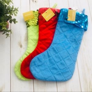 NEW Christmas Stocking Bundle of Three